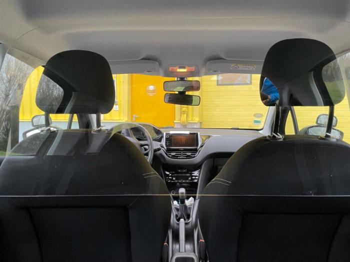 vitre polycarbonate voiture